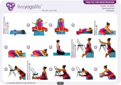Postures de Yoga pour les règles douloureuses
