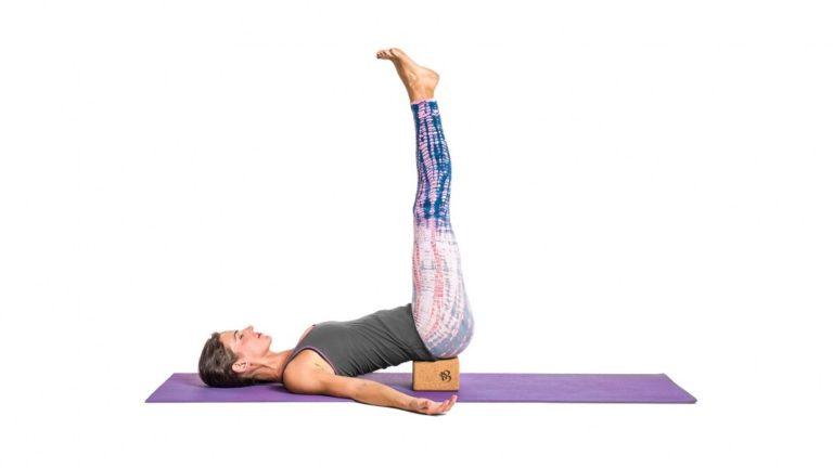 Viparita Karani / Yoga canicule